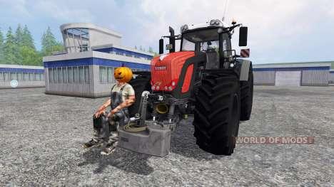 Fendt 939 Vario [Halloween] для Farming Simulator 2015