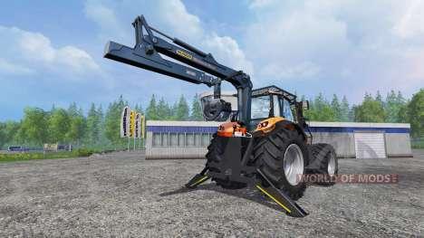Deutz-Fahr Agrotron 7250 TTV [forestry] v1.1 для Farming Simulator 2015