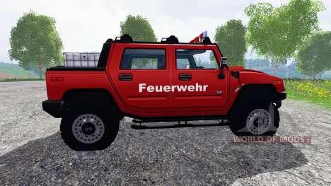 Hummer H2 [firefighters] для Farming Simulator 2015