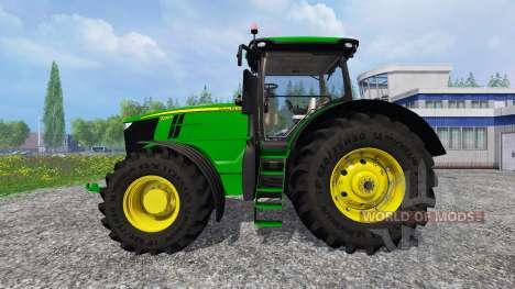 John Deere 7290R and 8370R v0.4 для Farming Simulator 2015