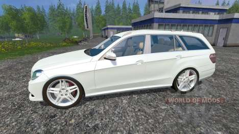 Mercedes-Benz E350 CDI Estate для Farming Simulator 2015