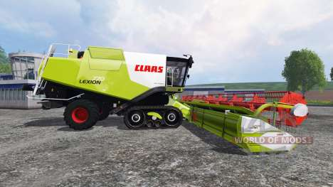 CLAAS Lexion 770TT v1.3 для Farming Simulator 2015