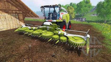 CLAAS Jaguar 980 v2.2 для Farming Simulator 2015
