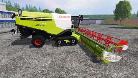 CLAAS Lexion 780TT v1.2 для Farming Simulator 2015