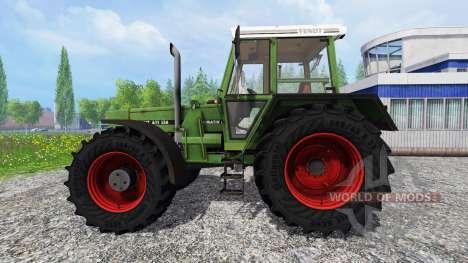 Fendt Favorit 611 LSA v2.1 для Farming Simulator 2015