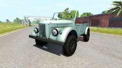 ГАЗ-69А для BeamNG Drive
