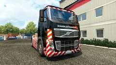 Скин Schwerlasttransport на тягач Volvo для Euro Truck Simulator 2