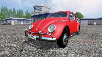 Volkswagen Beetle 1966 для Farming Simulator 2015