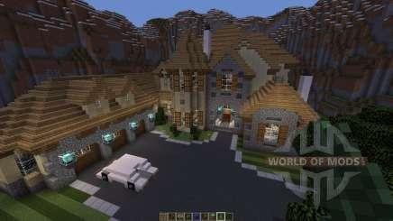 European Mountain Mansion для Minecraft