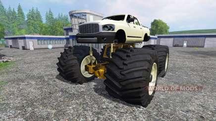 PickUp Monster Truck [super diesel] для Farming Simulator 2015