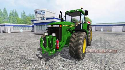 John Deere 8110 v2.0 для Farming Simulator 2015