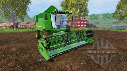 John Deere W540 v2.0 для Farming Simulator 2015