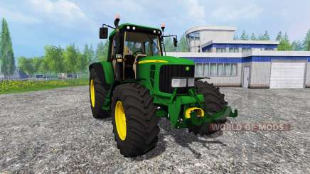 John Deere 6620 v0.8 для Farming Simulator 2015