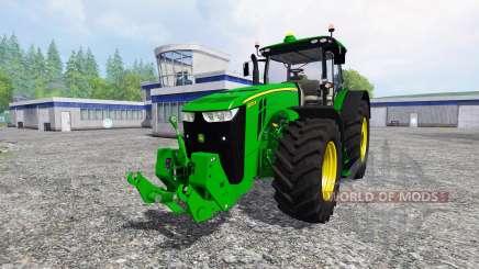 John Deere 8370R v0.85 для Farming Simulator 2015