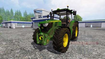 John Deere 6170R v2.0 для Farming Simulator 2015