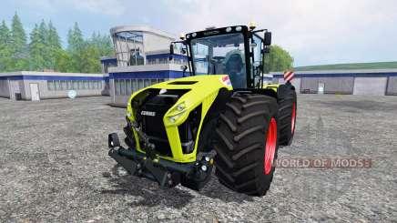 CLAAS Xerion 4500 v2.2 для Farming Simulator 2015