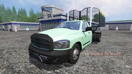 PickUp [log truck] v1.1 для Farming Simulator 2015