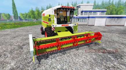 CLAAS Mega 208 для Farming Simulator 2015