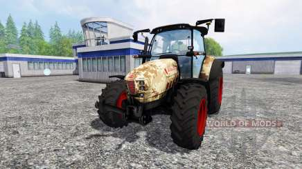 Hurlimann XM 4Ti camouflage v4.0 для Farming Simulator 2015