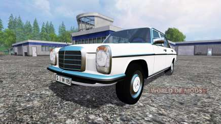 Mercedes-Benz 200D (W115) 1973 для Farming Simulator 2015