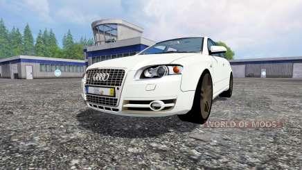 Audi A4 Avant Quattro для Farming Simulator 2015