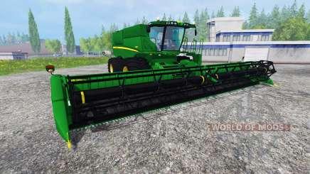 John Deere S680 [TerraTire] для Farming Simulator 2015