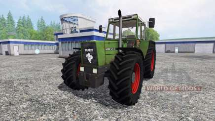 Fendt Favorit 611 LSA v2.1 для Farming Simulator 2015
