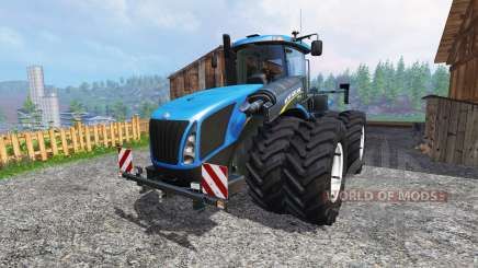 New Holland T9.700 [dual wheel] v1.1.2 для Farming Simulator 2015