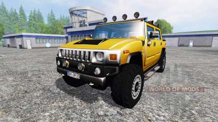 Hummer H2 для Farming Simulator 2015