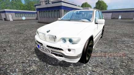 BMW X5 для Farming Simulator 2015