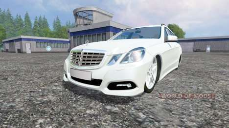Mercedes-Benz E350 [beta] для Farming Simulator 2015
