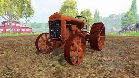 Fordson Model F 1917 [relict] для Farming Simulator 2015