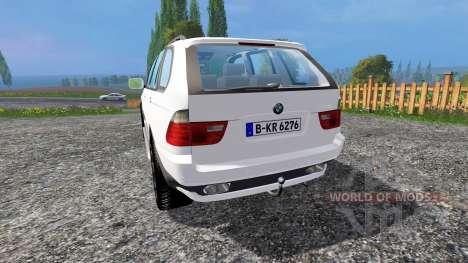 BMW X5 Unmarked Police для Farming Simulator 2015