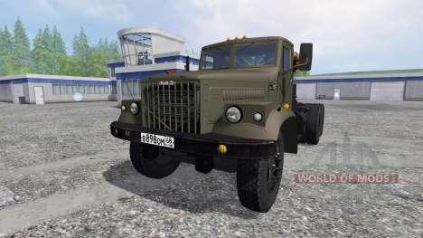 КрАЗ-258 для Farming Simulator 2015