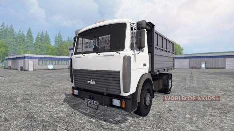 МАЗ-5551 v2.0 для Farming Simulator 2015
