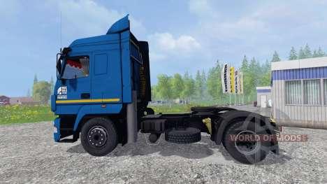 МАЗ-5440 [моющийся] для Farming Simulator 2015