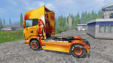 Scania R560 [sitting bull] для Farming Simulator 2015