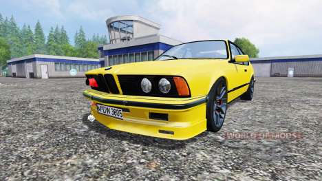 BMW M635CSi (E24) v1.0 для Farming Simulator 2015