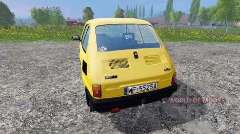 Fiat 126p 650E для Farming Simulator 2015