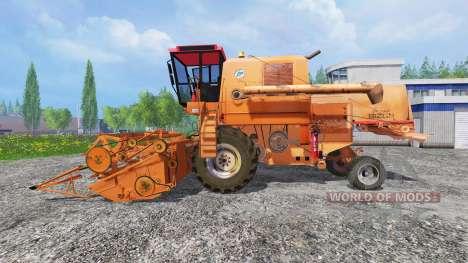 Bizon Z056 [оранжевый] для Farming Simulator 2015
