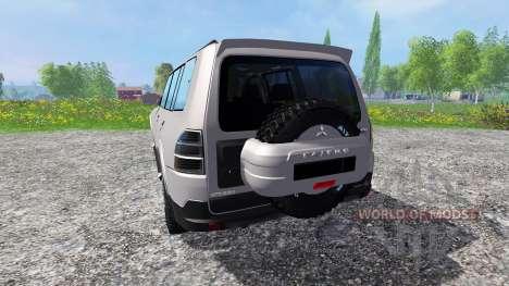 Mitsubishi Pajero IV для Farming Simulator 2015