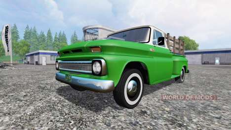 Chevrolet C10 Fleetside 1966 v1.1 для Farming Simulator 2015