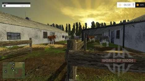 Посёлок Новотроицкий для Farming Simulator 2015