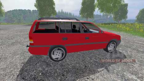 Opel Astra F Caravan для Farming Simulator 2015