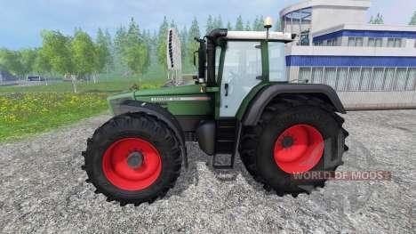 Fendt Favorit 824 для Farming Simulator 2015