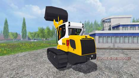 Liebherr LR 634 для Farming Simulator 2015