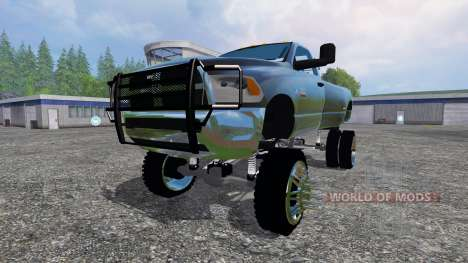 Dodge Ram 3500 [lift] для Farming Simulator 2015