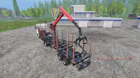 MAN TGS 18.440 [timber carrier] для Farming Simulator 2015