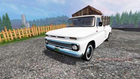 Chevrolet C10 Fleetside 1966 v1.2 для Farming Simulator 2015