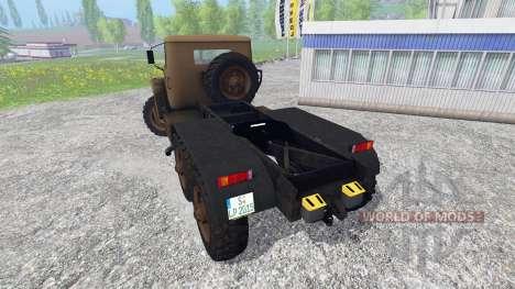 Урал-4320 [тягач] для Farming Simulator 2015